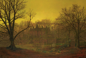 Art Prints of Yorkshire Home by John Atkinson Grimshaw