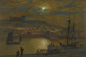 Art Prints of Whitby by John Atkinson Grimshaw