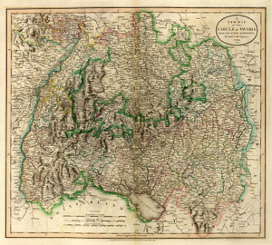Art Prints of Swabia, 1799 (1657029) by John Cary