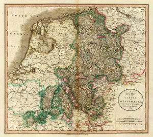 Art Prints of Westphalia, 1799 (1657023) by John Cary