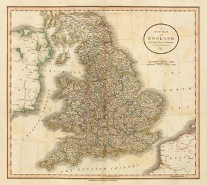 Art Prints of England, 1807 (1657006) by John Cary
