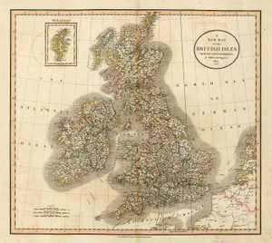 Art Prints of British Isles, 1807 (1657005) by John Cary