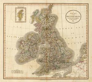 Art Prints of British Isles, 1807 (1657005) by John Cary