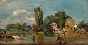 Art Prints of Flatford Mill by John Constable