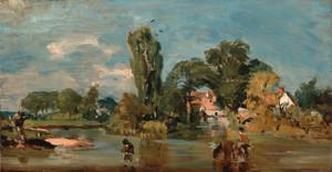 Art Prints of Flatford Mill by John Constable