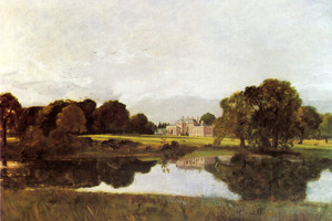 Art Prints of Malvern Hall Warwickshire by John Constable