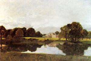 Art Prints of Malvern Hall Warwickshire by John Constable