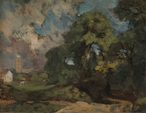 Art Prints of Stoke by Nayland by John Constable