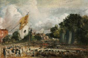 Art Prints of The Celebration in East Bergholt of Peace of 1814 by John Constable