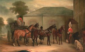 Art Prints of The Drag of Sir Watkin Williams Wynn by John Ferneley