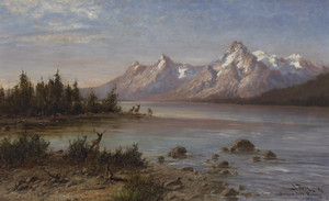 Art Prints of Jackson Lake, Wyoming by John Fery
