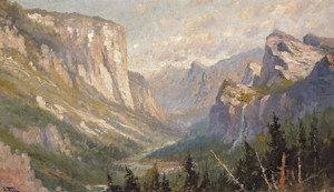 Art Prints of Yosemite Valley by John Fery