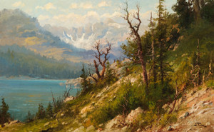 Art Prints of Glacier Park, Montana by John Fery