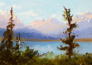 Art Prints of Sunrise in Montana by John Fery