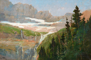Art Prints of Grinnell Glacier by John Fery