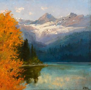 Art Prints of Avalanche Lake by John Fery