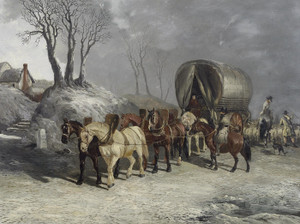 Art Prints of Deacon and Company Carriers by John Frederick Herring