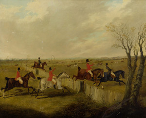 Art Prints of Gone Away, Foxhunting by John Frederick Herring