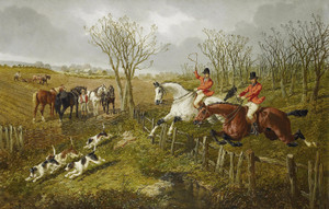 Art Prints of Over the Sticks by John Frederick Herring