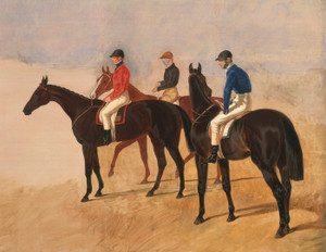 Art Prints of Steeplechase Cracks by John Frederick Herring