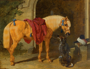 Art Prints of The Cavaliers Charger by John Frederick Herring