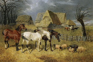 Art Prints of The Coming Storm by John Frederick Herring