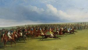 Art Prints of The Oaks, False Start by John Frederick Herring