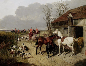 Art Prints of The Meet by John Frederick Herring