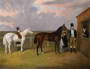 Art Prints of Sir Mark Wood with Dark Brown Filly Vespa by John Frederick Herring