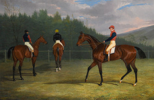 Art Prints of The Start of the Goodwin Gold Cup by John Frederick Herring
