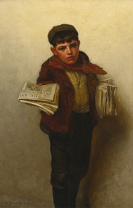 Art Prints of Just Out by John George Brown