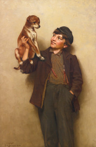 Art Prints of My Best Friend by John George Brown