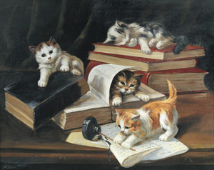 Art Prints of Naughty Kittens by John Henry Dolph
