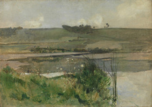 Art Prints of Arques-la-Bataille, Normandy by John Henry Twachtman