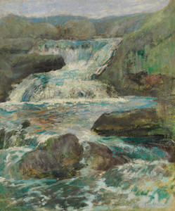Art Prints of Horseneck Falls by John Henry Twachtman