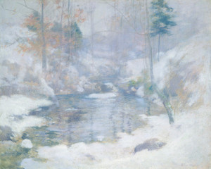 Art Prints of Winter Harmony by John Henry Twachtman