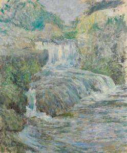 Art Prints of Waterfall by John Henry Twachtman