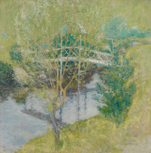 Art Prints of The White Bridge by John Henry Twachtman