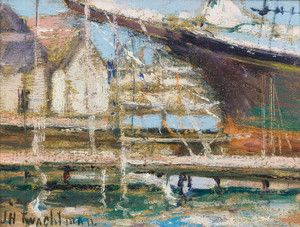 Art Prints of On the Ways by John Henry Twachtman