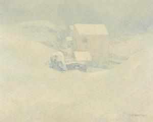 Art Prints of Snow by John Henry Twachtman