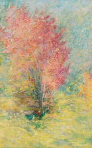 Art Prints of The Red Maple by John Henry Twachtman