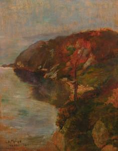 Art Prints of Study of Fog Effect, Brenton's Cove by John La Farge