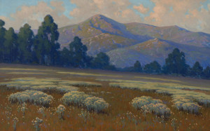 Art Prints of Santa Barbara landscape by John Marshall Gamble