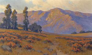 Art Prints of Wild Buckwheat, Evening by John Marshall Gamble
