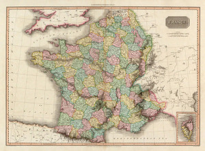 Art Prints of France, 1809 (0732015) by John Pinkerton