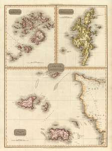 Art Prints of Remote British Isles, 1814 (0732014) by John Pinkerton