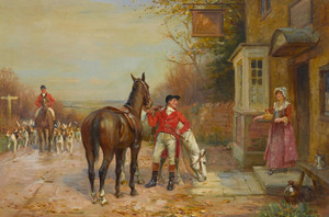 Art Prints of After the Hunt by John Sanderson Wells