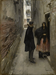 Art Prints of A Street in Venice by John Singer Sargent