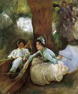 Art Prints of By the River by John Singer Sargent