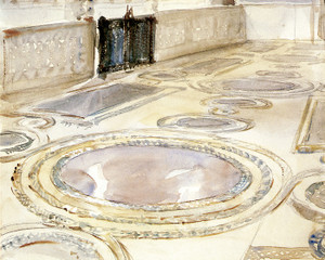 Art Prints of Colorful Pavements, Sicily by John Singer Sargent